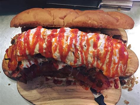 """Lucky Louie's """"Moby Dick"""" Sandwich Challenge"""