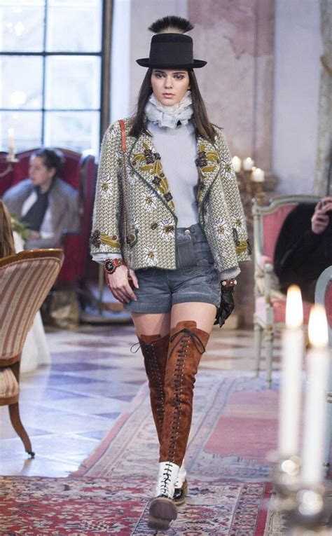 Chanel Pre-Fall 2015 from Kendall Jenner's Runway Shows