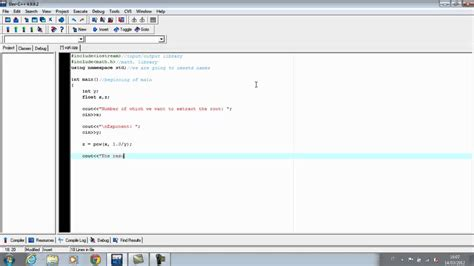 Square, Cube or higher root C++ - YouTube