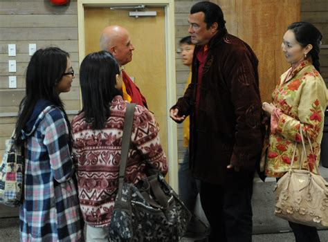 Chungdrag Dorje - Steven Seagal, wife Elle, chats with Bud