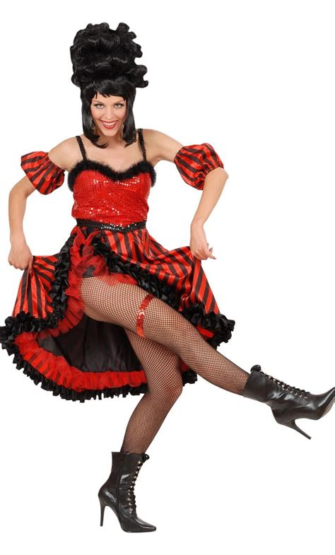 Costume french cancan-v29400