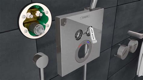 Hansgrohe ShowerSelect installation in a renovated