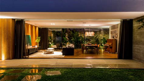 This single-family house near Sao Paulo was inspired by
