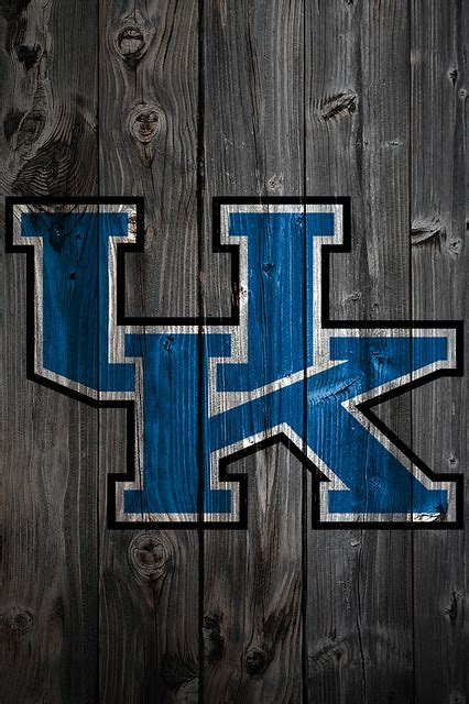 Kentucky Wildcats Wood iPhone 4 Background - a photo on