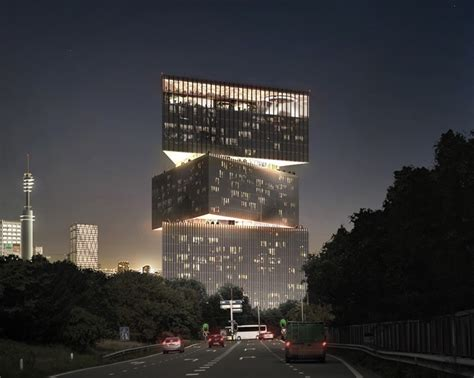 OMA's stacked RAI amsterdam hotel given the go ahead