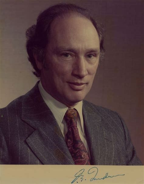 Pierre Trudeau Signed Photo Canadian Prime Minister