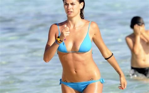 (Image) Melissa Satta: Sexy WAG shows off her stunning