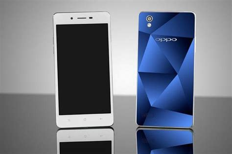 Oppo's Mirror 5 sports a fancy reflective back cover and a