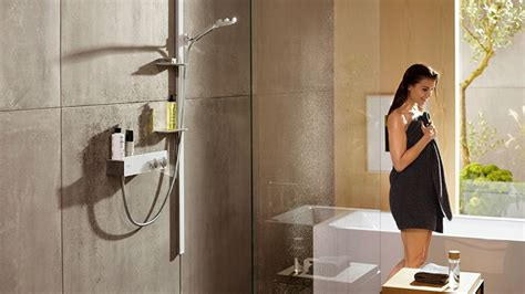 Shower sets, wall bars, shower head | Hansgrohe INT