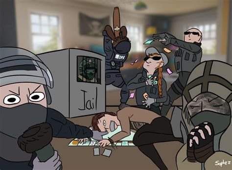 RS Draw The Squad by sophez | Rainbow Six Siege | Know
