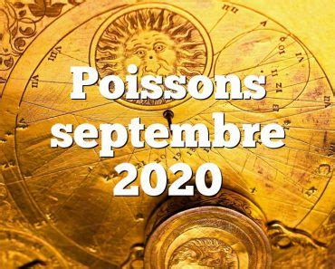 Poissons - Horoscope