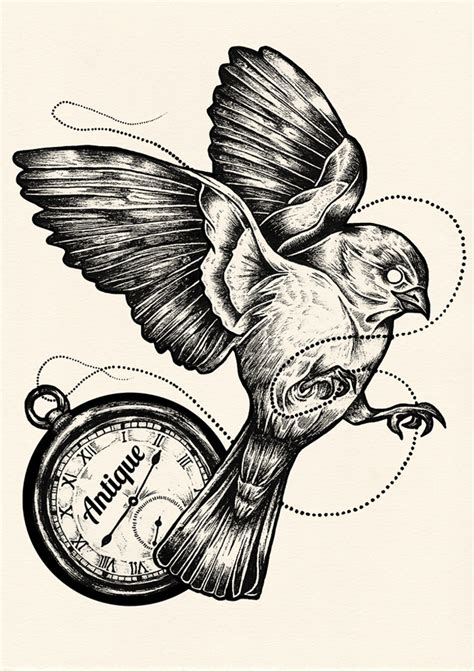 Antique Pocket Watch Drawing at GetDrawings | Free download