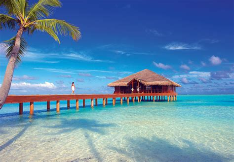All-inclusive paradise in the Maldives with an over water