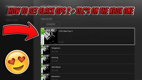 HOW TO GET BLACK OPS 2 ON XBOX ONE+HOW TO INSTALL DLC'S