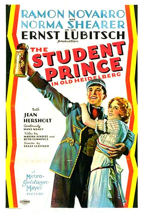 The Student Prince in Old Heidelberg (1927) - FilmAffinity