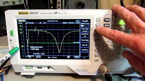 Rigol DSA-815 - Determining cable length with a spectrum