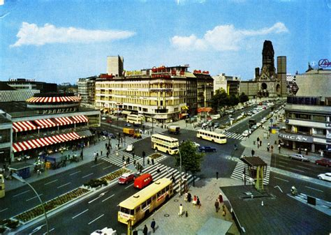 Thirty-Four Brilliant West Berlin Postcards from the 1960s