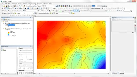Exporting Maps from Surfer Mapping Software into ArcMap