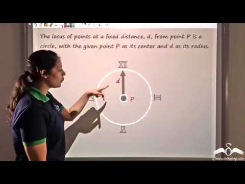 Hindi : Definition of Parabola - Conic Sections - Ch 11