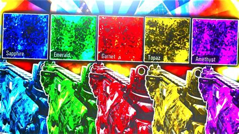 5 *NEW* CRAZY PACK-A-PUNCH DLC CAMOS IN BLACK OPS 3! - NEW