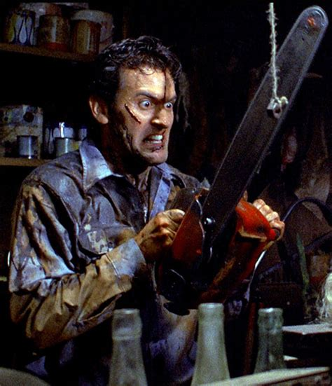 Evil Dead - Bruce Campbell - Ash - Character profile