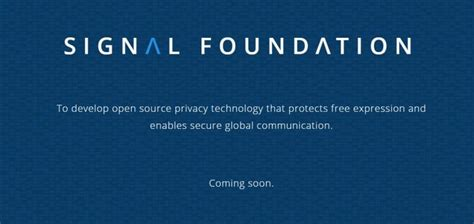 Signal Gets A $50 Million Donation From WhatsApp Co-Founder