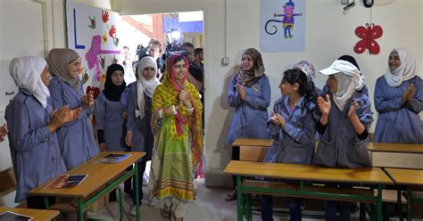 Malala turns 18, opens girls school for Syrian refugees
