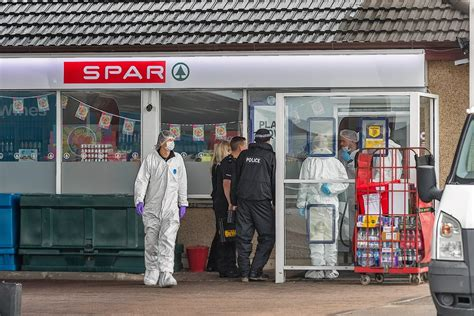 Forensic cops swoop on Buckie petrol station amid crime