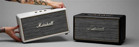 Marshall Stanmore : Test complet   L'enceinte au look d