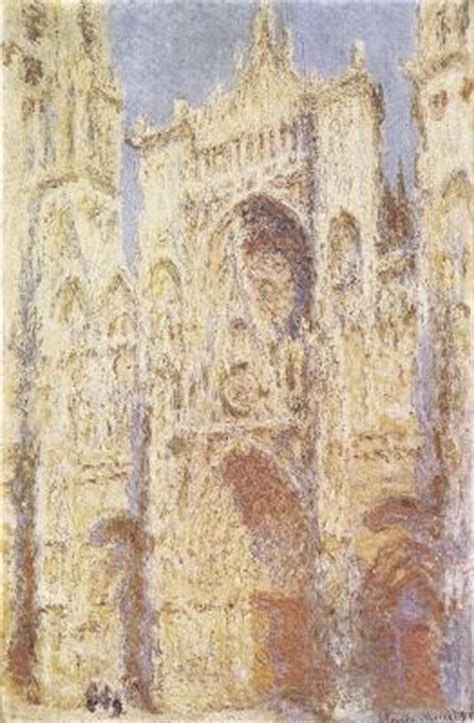 MONET ROUEN Cathedral Church in Rouen, picture poster