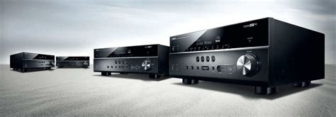 Yamaha's entry-level multi-channel receivers: the RX-V383