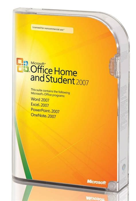 Microsoft Office Home And Student 2007 Retail Box