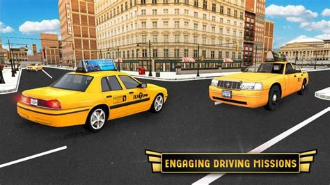 Modern City Taxi Cab Driver Simulator Game 2017 for