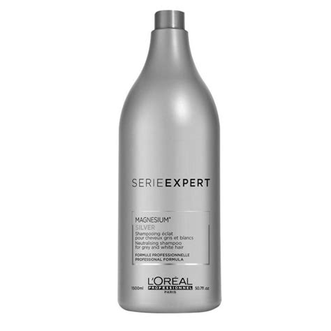 Shampoing éclat cheveux blancs Silver L'Oreal 1500 ml
