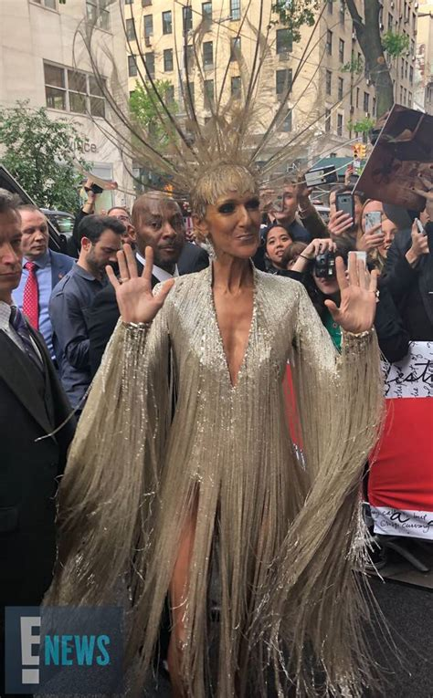Celine Dion from Met Gala 2019: Exclusive Photos | E! News