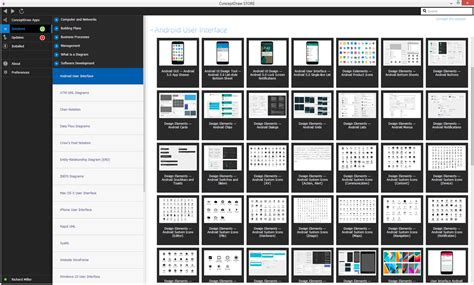 Android User Interface? Solution   ConceptDraw
