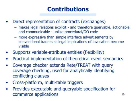 PPT - Representing and Enforcing E-Commerce Contracts