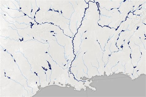 A Satellite View of River Width
