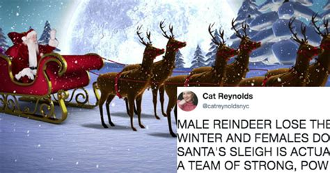 Santa's Sleigh Is Pulled By Strong, Underrated Women, And