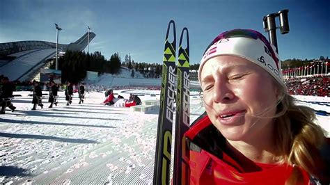 Tiril Eckhoff, Personal Best 6th Place in Oslo - YouTube